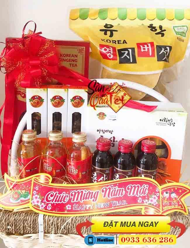 Địa chỉ bán giỏ quà Hàn Quốc biếu tết ở Bình Thạnh - Shop Quà Tết Cao Cấp Bình Thạnh