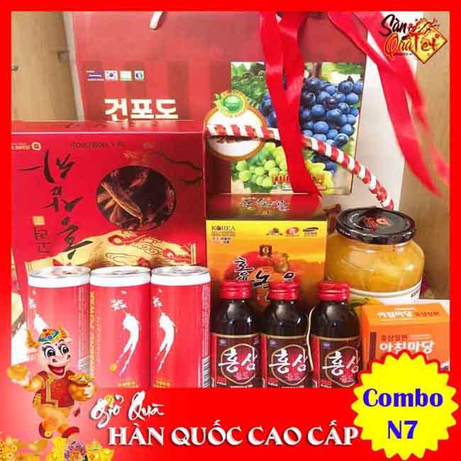 Địa chỉ bán Sâm Hàn Quốc ở Bình Thạnh - Shop Quà Tết Cao Cấp 228B Bạch Đằng
