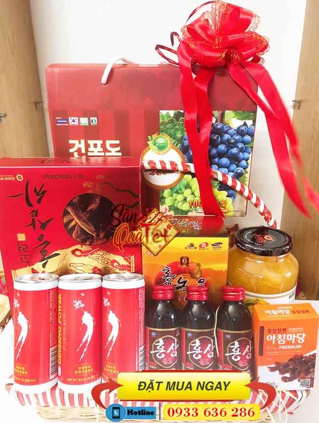 Nơi bán Sâm Hàn Quốc ở Bình Thạnh - Shop Quà Tết Cao Cấp 228B Bạch Đằng